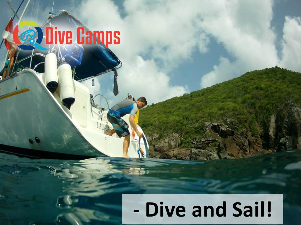 Dive camp - dive and sail