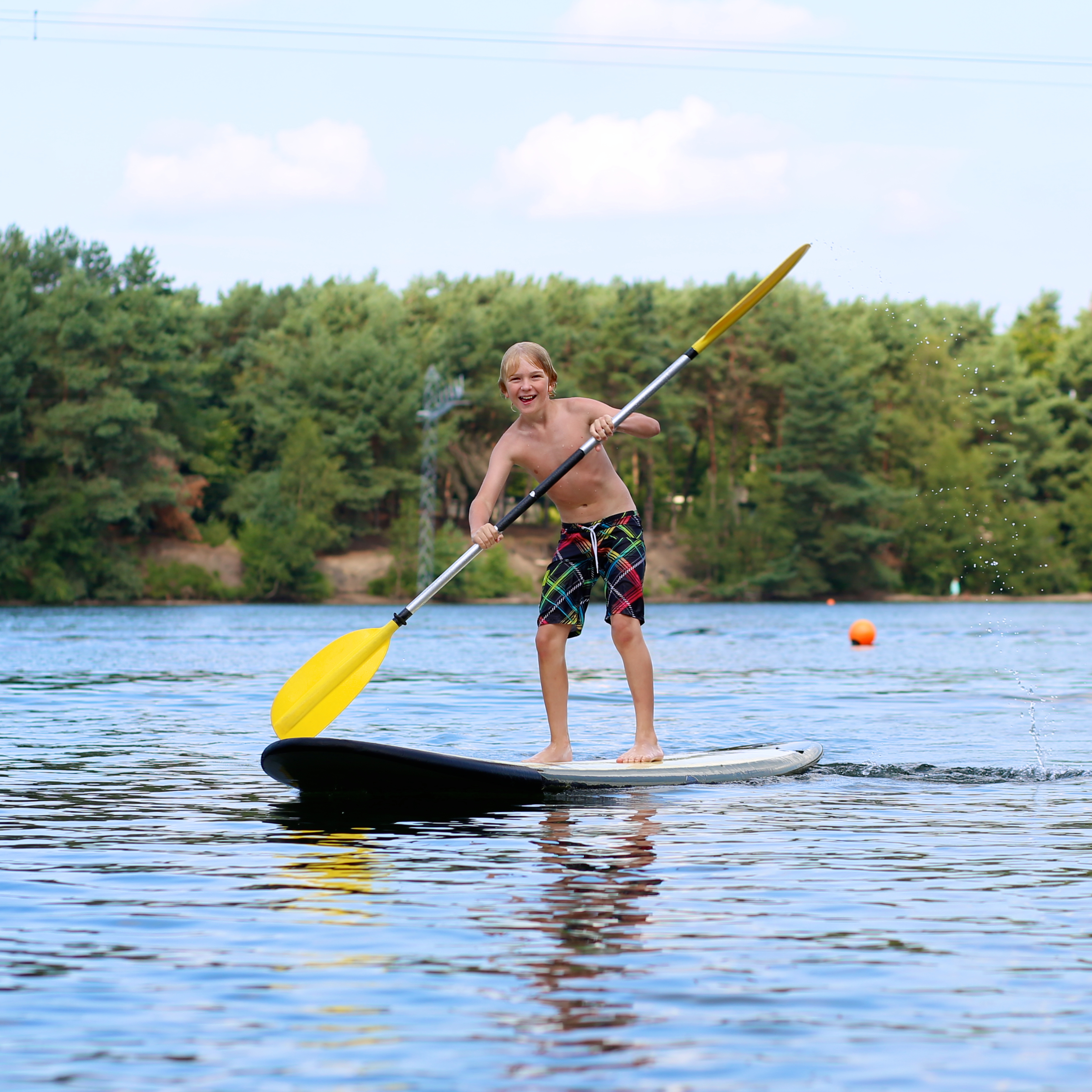 Paddle board (old stock image)