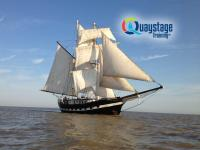 Quaystage - Lady A tall ship