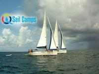 sail camp -two yachts sail together