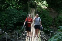 Rope Bridge Adventure